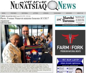 http://nunatsiaq.com/stories/article/65674photo_former_nunavut_minister_honours_icch17_organizer/